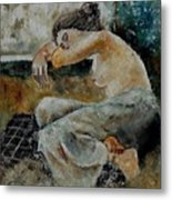 Young Girl  679050 Metal Print