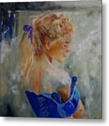 Young Girl  78 Metal Print