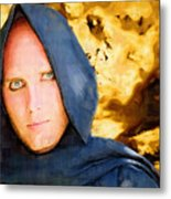 Young Knight Metal Print by Clarence Alford