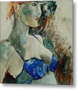 Young Lady 56 Metal Print
