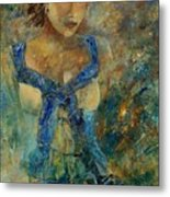 Young Lady 5698 Metal Print