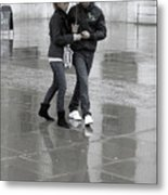 Young Love Under The Weather Metal Print