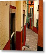 Young Man In The Alley Metal Print
