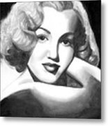 Young Marilyn Metal Print