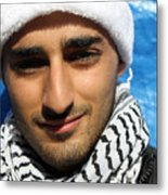 Young Palestinian Man Metal Print