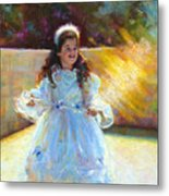 Young Queen Esther Metal Print