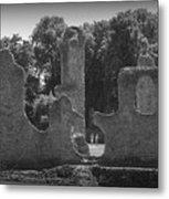 Young Ruins Metal Print