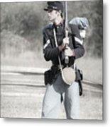 Young Soldier II Metal Print