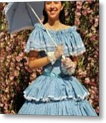 Young Southern Belle Metal Print