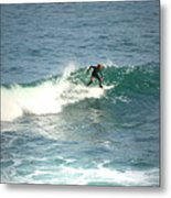 Young Surfers Four Metal Print