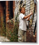 Young Vandal Metal Print