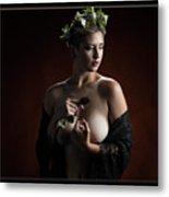 Young Woman Nude 1729.180 Metal Print