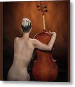 Young Woman Nude 1729.190 Metal Print