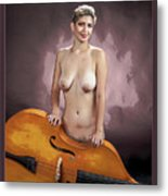 Young Woman Nude 1729.200 Metal Print