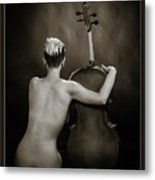 Young Woman Nude 1729.565 Metal Print