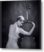 Young Woman Nude 1729.566 Metal Print