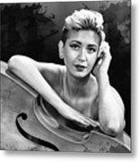 Young Woman Nude 1729.574 Metal Print