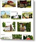 Youngstown Landmarks Montage 2 Metal Print