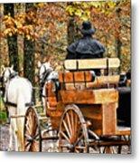 Your Carriage Awaits Metal Print