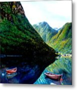 Your Life Is An Island Separated From All Other Islands And Continents Regardless Of How Many Boat Metal Print