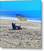 Your Own Private Beach Metal Print