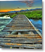 Your Path Lies Before You Metal Print