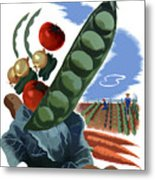 Your Victory Garden Counts More Than Ever Metal Print by War Is Hell Store