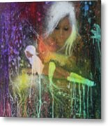 You're A Drop In The Rain ,you're Just A Number Not A Name  Metal Print