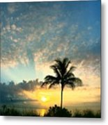You're Never Alone With A Sunrise Metal Print