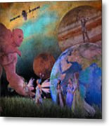 You're Safe In My Hands Metal Print