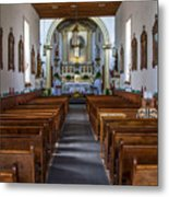 Ysleta Mission #2 Metal Print