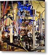 Ytterbium Lattice Atomic Clock Metal Print