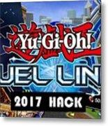Yu Gi Oh Duel Links Hack Metal Print