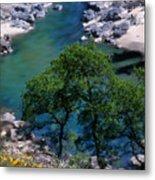 Yuba River In Spring Metal Print