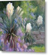 Yucca And Wisteria Metal Print