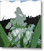 Yucca Blossom Metal Print