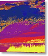 Yukon Mountain Range 7 Metal Print