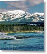 Yukon River Metal Print