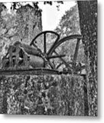 Yulee Sugar Mill Ruins Hrd Metal Print