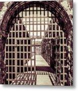 Yuma Territorial Prison Gate Metal Print