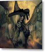 A Witch's Soul Does Never Die Metal Print