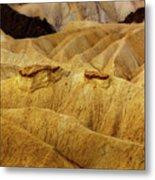 Zabriskie Point, Death Valley Metal Print