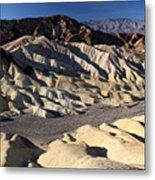 Zabriskie Point In Death Valley Metal Print