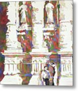Zacatecas Cathedral Metal Print