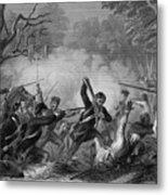 Zachary Taylor , 1784-1850 Metal Print