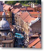 Zagreb Afternoon Metal Print