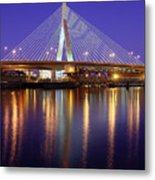 Zakim At Twilight II Metal Print