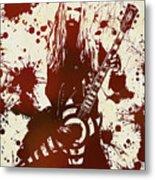 Zakk Wylde Metal Print