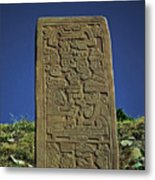 Zapotec History Metal Print by Juergen Weiss