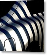 Zebra Motors Metal Print